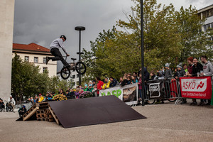 20Inch Trophy am Landhausplatz in Innsbruck